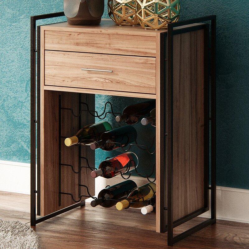 Mercury Row Ocellus Wine Storage Table U0026 Reviews | Wayfair