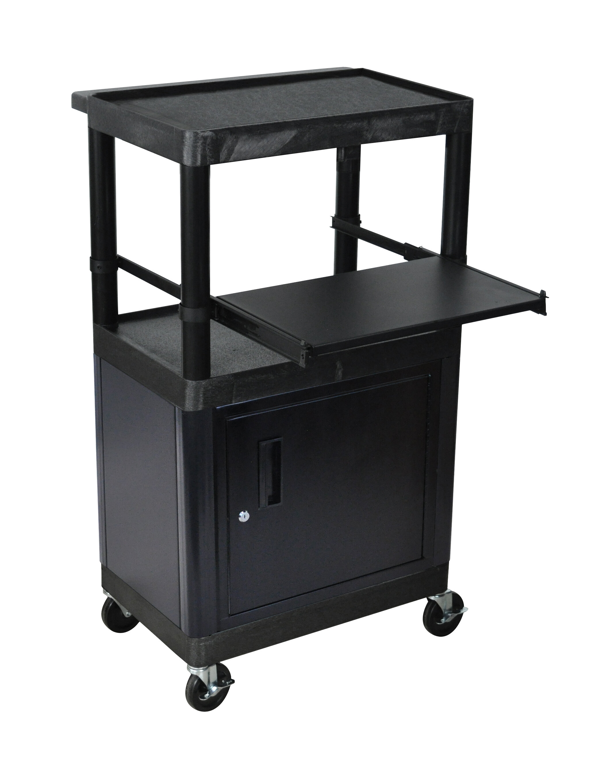 laptop product cabinet station charging luxor black b reg c