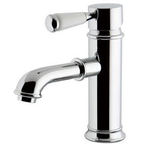 Paris Single Hole Lavatory Faucet with Brass Pop-Up Drain