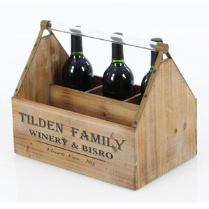 Annawan Rectangular Wood Tabletop Wine Bo..