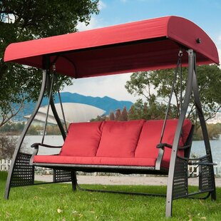 Patio Glider With Canopy Wayfair