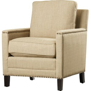 Lenore Cotton Armchair by Red Barrel Studio
