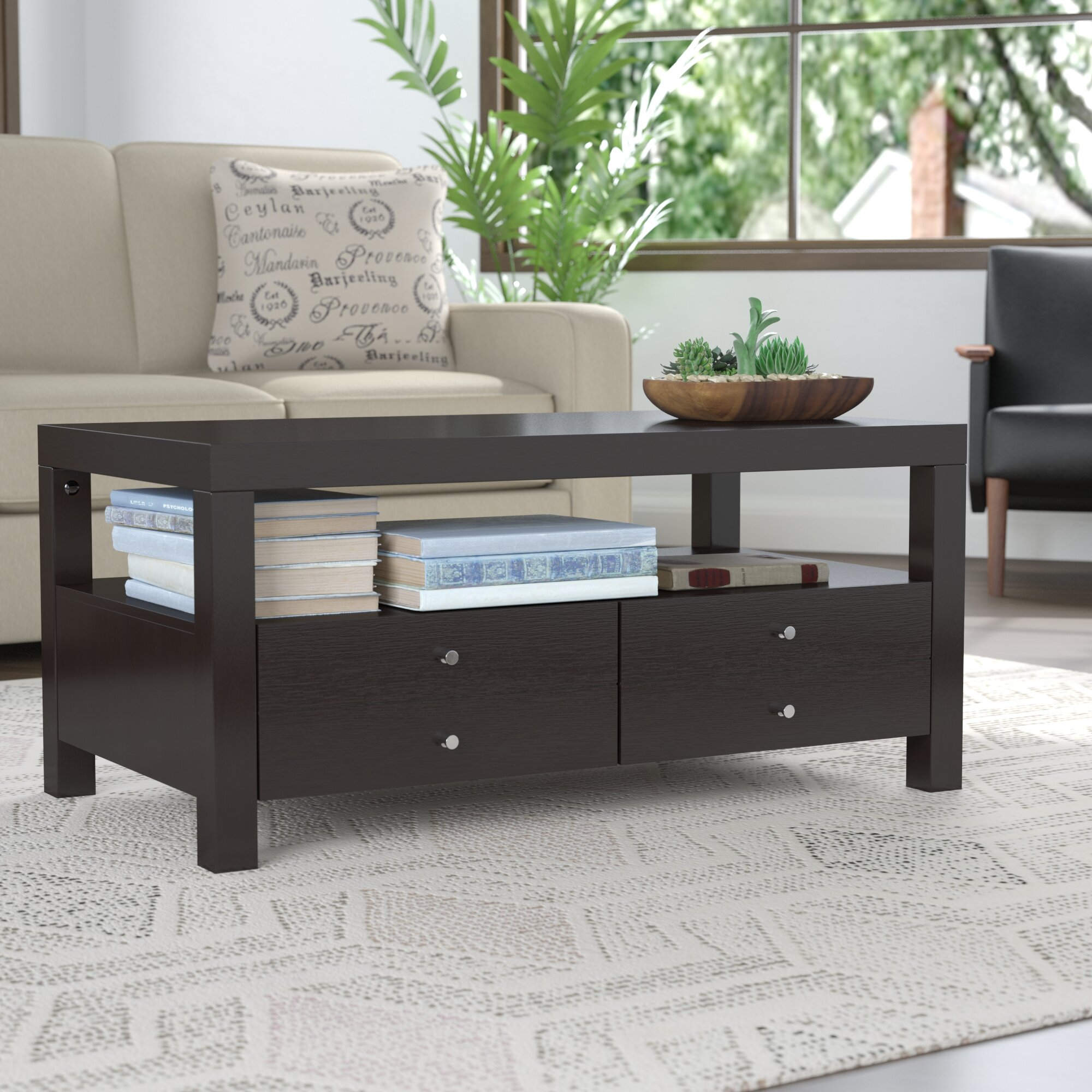 Andover Mills Naperville Coffee Table With Storage U0026 Reviews | Wayfair