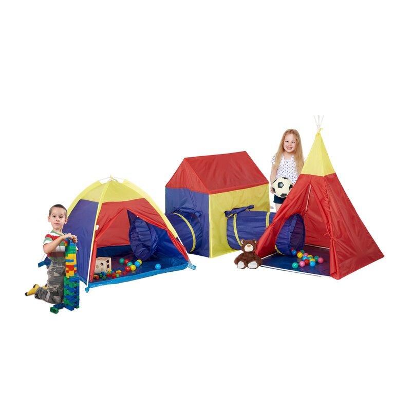 Colette 5 Piece Play Tent Set  sc 1 st  Wayfair & Zoomie Kids Colette 5 Piece Play Tent Set   Wayfair.co.uk