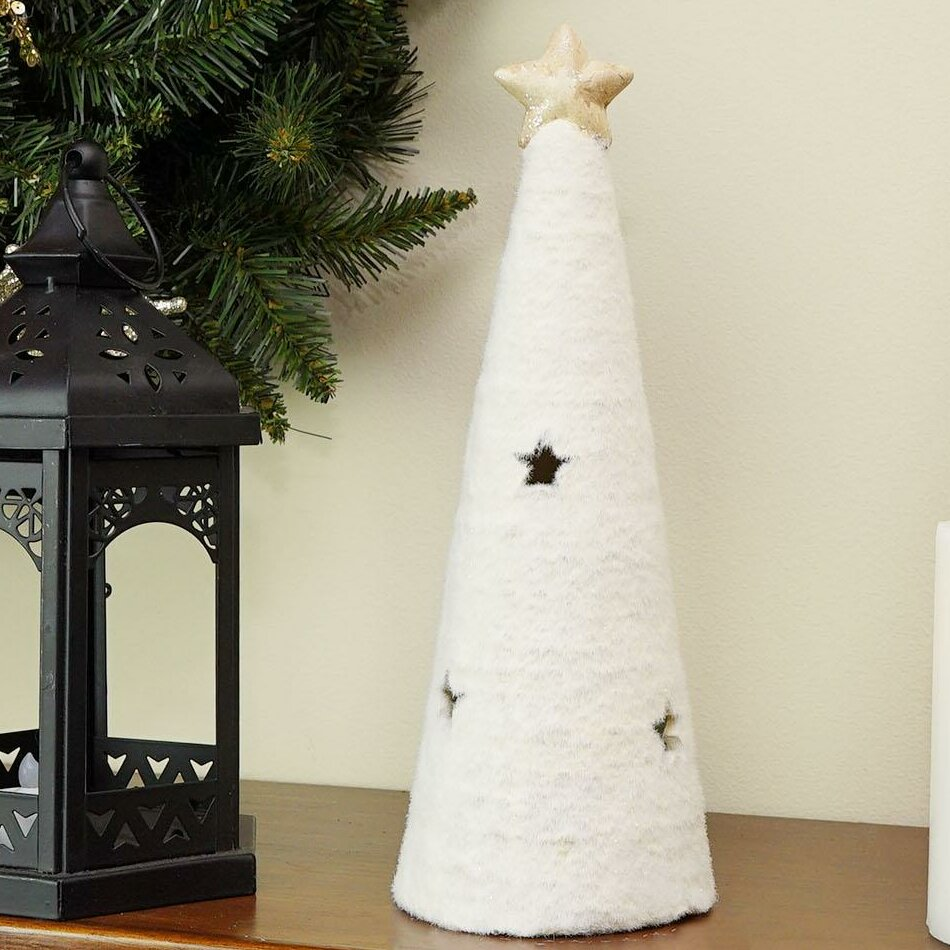 The Holiday Aisle LED Lighted Christmas Tree Figure Luminary with ...