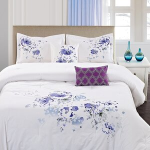Westgate Floral Spray 5 Piece Comforter Set
