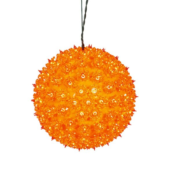 vickerman lighted twinkling starlight sphere christmas decoration wayfair - Starlight Sphere Outdoor Christmas Decoration
