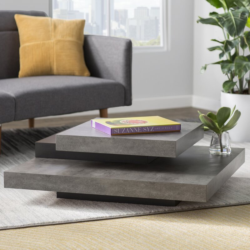 Image Result For Concrete Coffee Table Allmodern