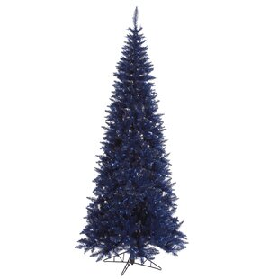 10 navy blue fir artificial christmas tree