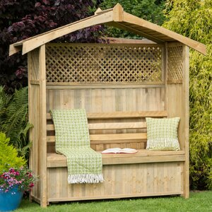 Hampshire Arbour with Storage