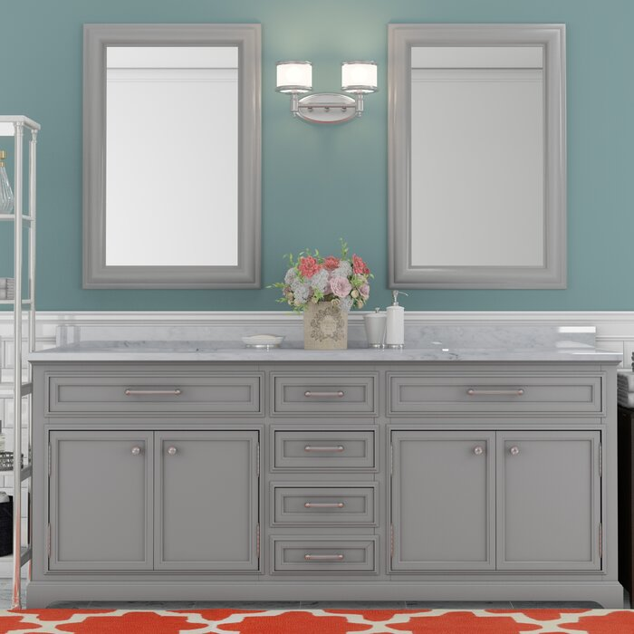 Sensational Bergin 72 Double Bathroom Vanity Set Interior Design Ideas Inesswwsoteloinfo