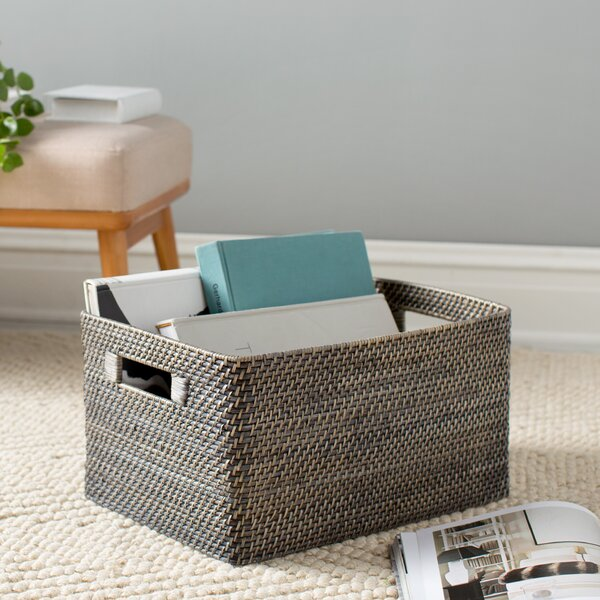 Charmant Rosecliff Heights Rectangular Rattan Storage Basket U0026 Reviews | Wayfair