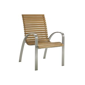 Tres Chic Patio Dining Chair
