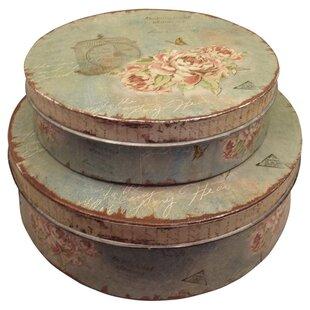 Coriandre Storage Tin Set Of 2