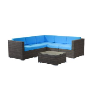 Brighton 6 Piece Sectional. By Rattan Outdoor Furniture