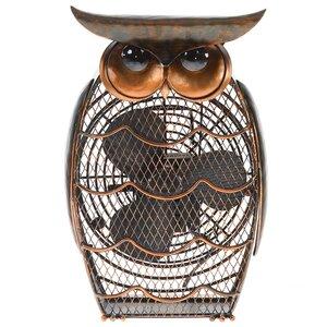 Owl Figurine Table Fan