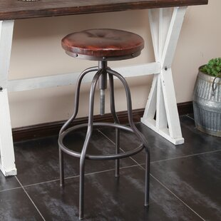 Chauntel Adjustable Height Swivel Bar Stool