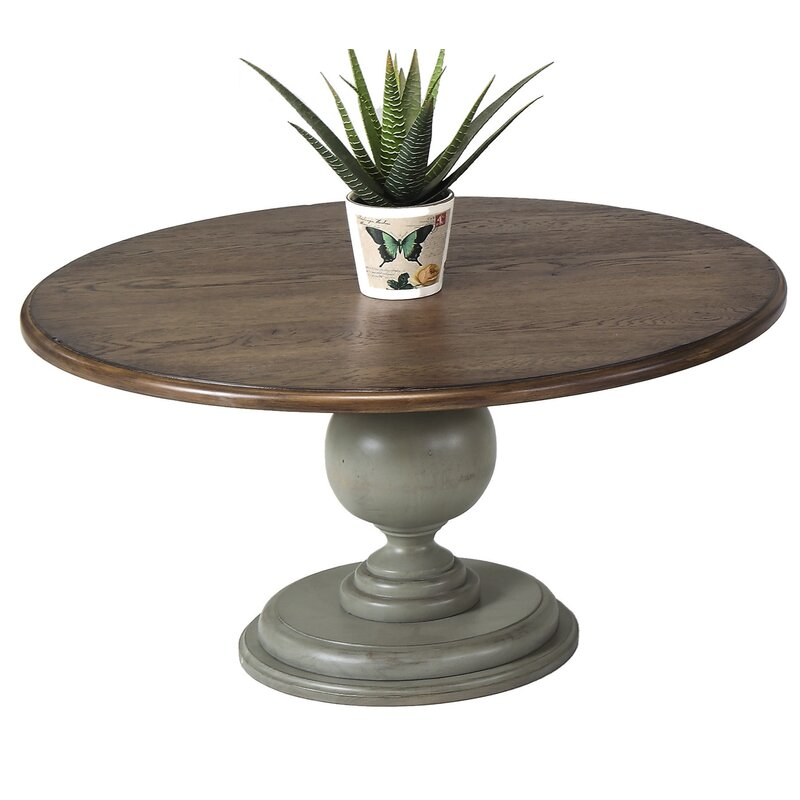 Delicieux Serpentaire Round Pedestal Coffee Table