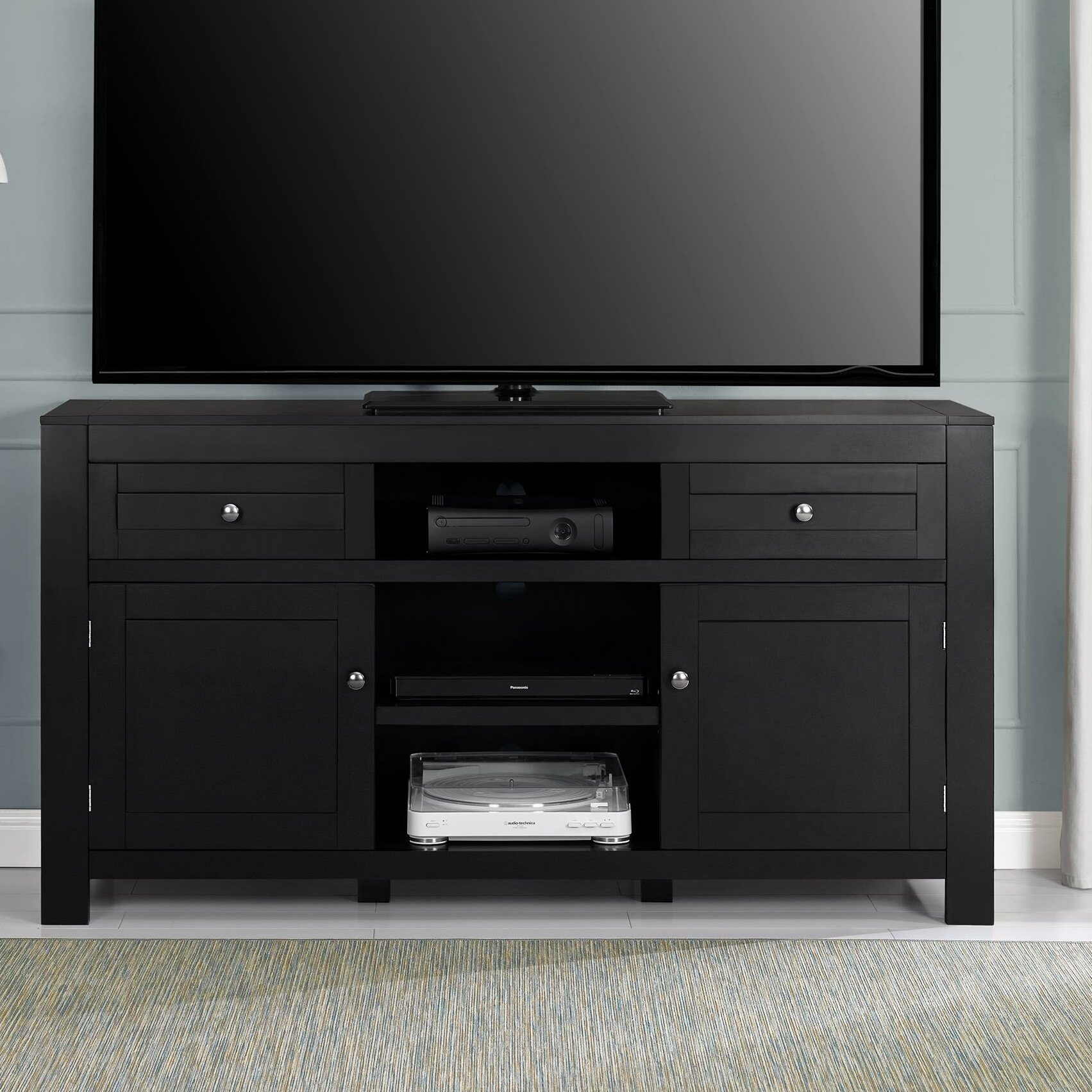 Red Barrel Studio Dallas Tv Stand For Tvs Up To 60 Reviews Wayfair