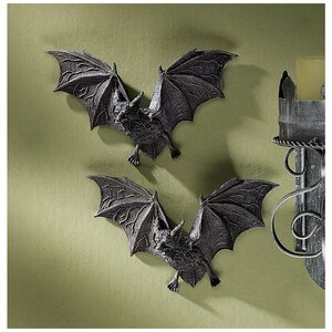 The Vampire Bats of Castle Barbarosa Wall Du00e9cor (Set of 2)
