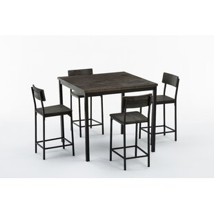 Bushman 5 Piece Counter Height Table Set