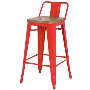 Ellery 30  Bar Stool (Set ...  sc 1 st  Wayfair & Red Bar Stools Youu0027ll Love | Wayfair islam-shia.org