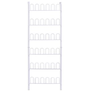 Shoe rack with 6 rows