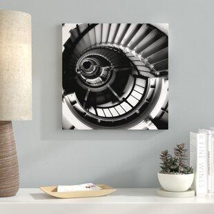 spiral staircase shelf wayfair