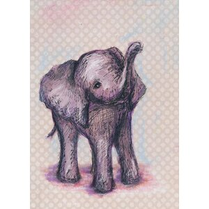 Elephant Baby Canvas Art