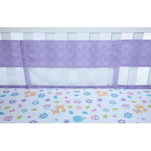 Adorable Orchard Secure Me Crib Bumper Liner