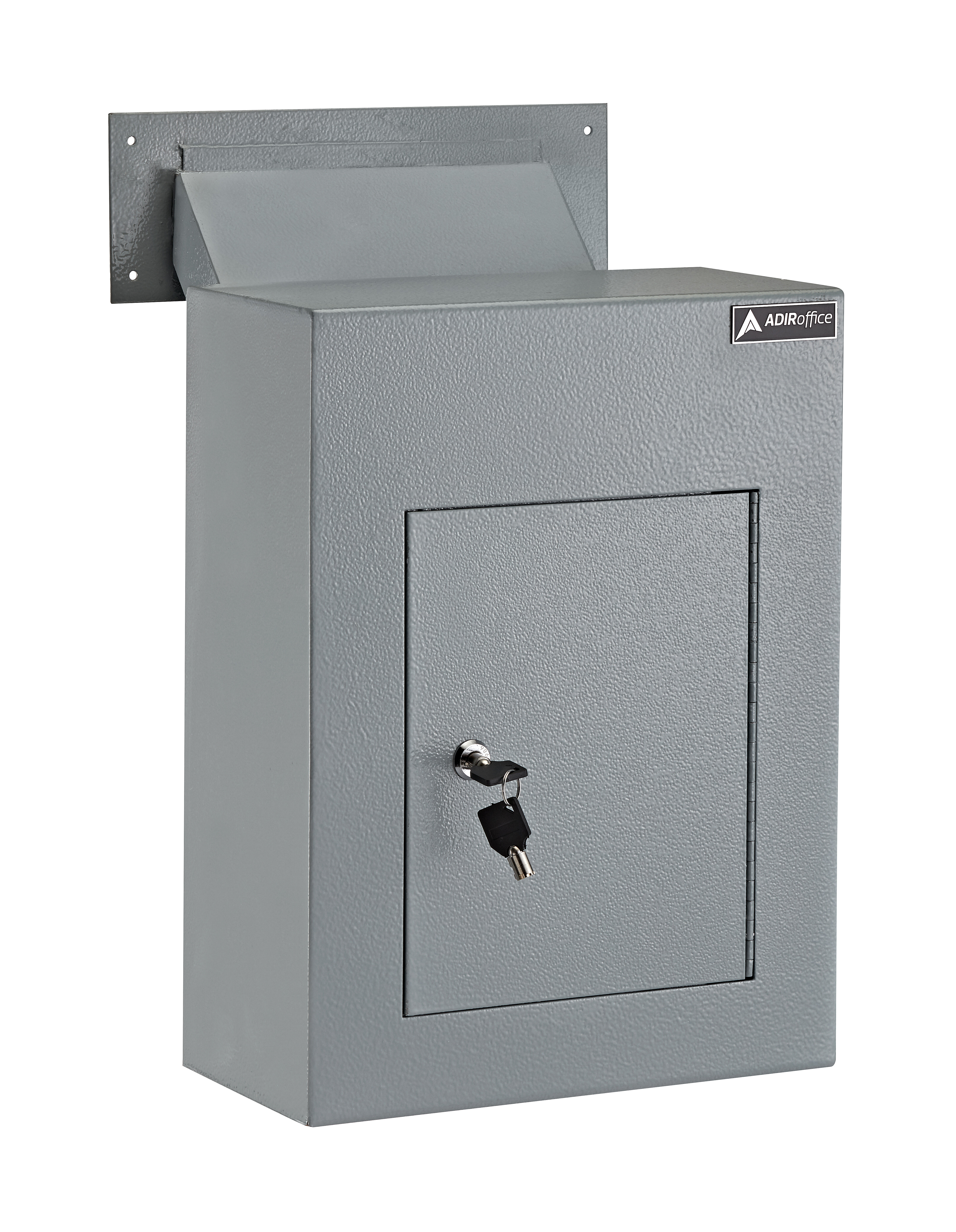 Adiroffice Through The Wall Drop Box Depository Safe With Key Lock Wayfair Ca