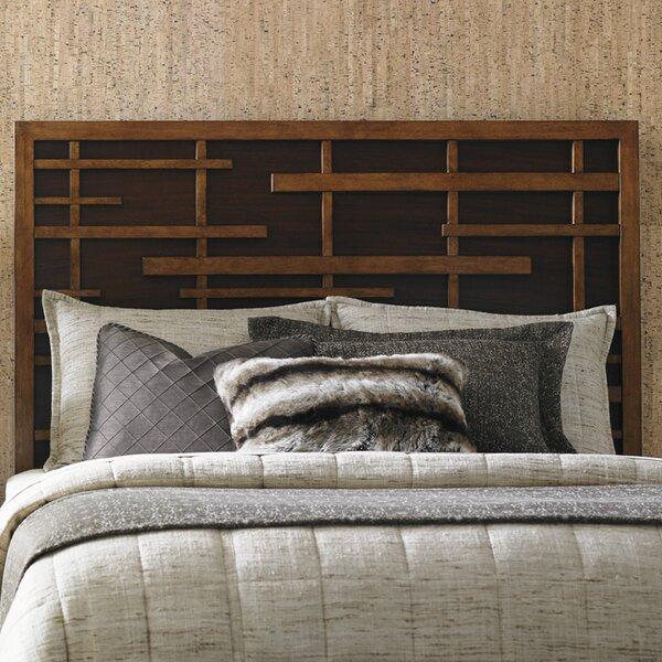 Tommy bahama home island fusion shanghai panel headboard for Bahama towel chaise cover