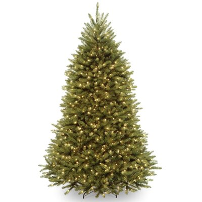 Fir 6 5 Hinged Green Artificial Christmas Tree With 650 Clear Lights