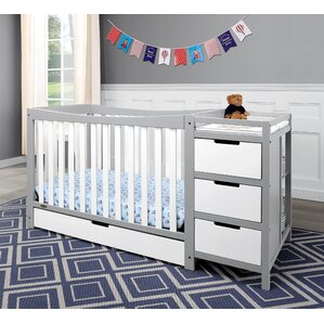 Good Remi 4 In 1 Convertible Crib And Changer