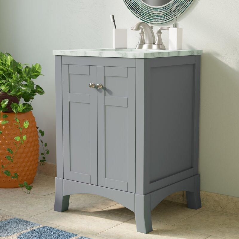 Brayden Studio Piccirillo 24 Quot Single Bathroom Vanity Set