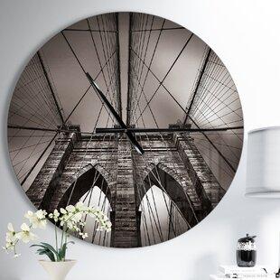 Wall Clocks Made In Usa Wayfair