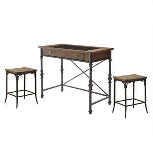 Manriquez 3 Piece Pub Table Set