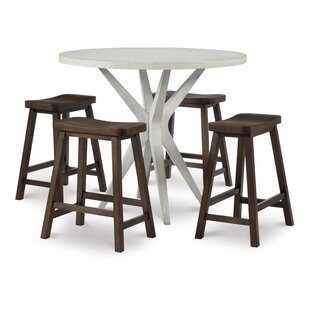 Austin 5 Piece Pub Table Set