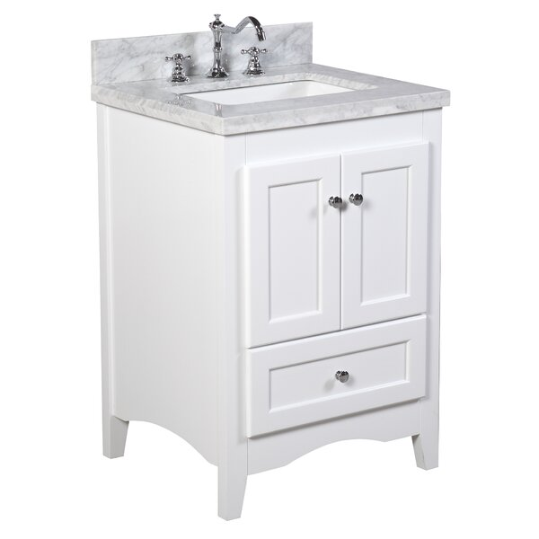 24 in bathroom vanity with sink.  KBC Abbey 24 Single Bathroom Vanity Set Reviews Wayfair