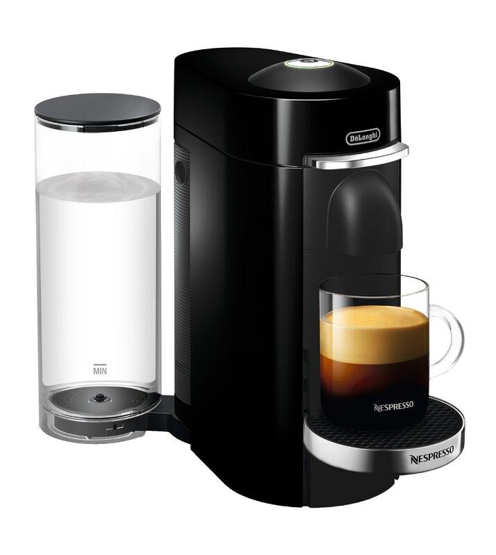 DeLonghi Nespresso Vertuo Plus Deluxe Coffee and Espresso ...