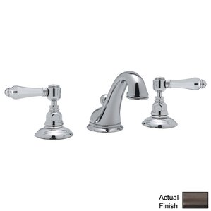 Rohl A1408LM 2 Country Bath Low Lead Widespread Bathroom Faucet With Pop Up  Drain