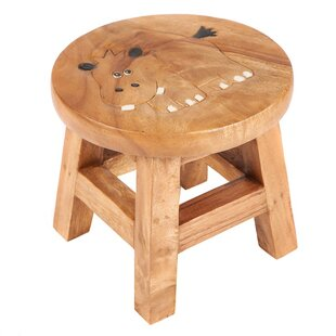 Hippo Children's Stool by Just Kids
