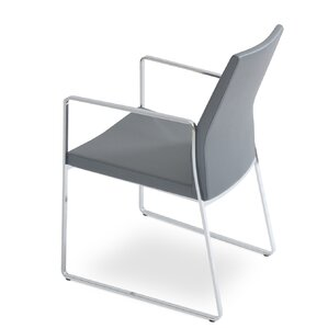 Pasha Slide Upholstered Dining Chair by sohoConcept