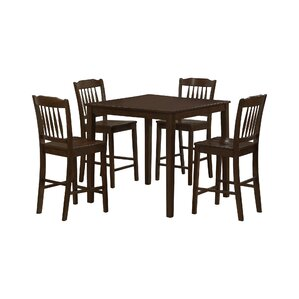 5 Piece Counter Height Dining Set by Mona..