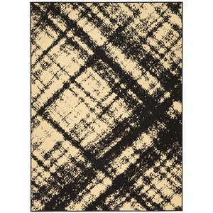 Walton Cream/Black Indoor Area Rug