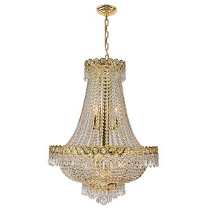 Carson 12-Light 120W Empire Chandelier