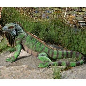 Iggy The Iguana Statue