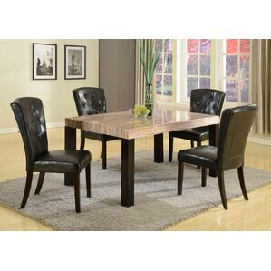 Zanic 5 Piece Dining Set by Roundhill Furniture