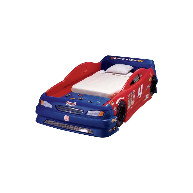 Step2 Childrens Furniture Stock Twin Car Bed Reviews Wayfair