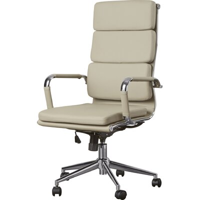 Brayden Studio Conference Chair Upholstery Color: Brown